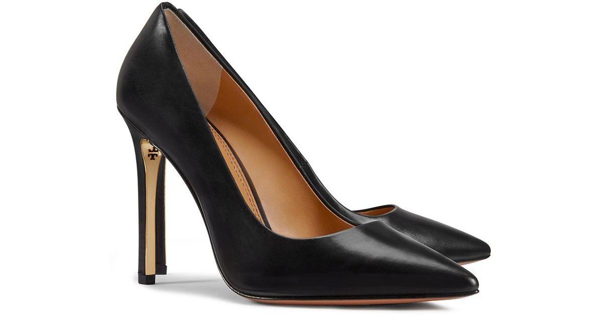 bbf6268c05 Tory Burch Elana High-heel Pump in Black - Lyst