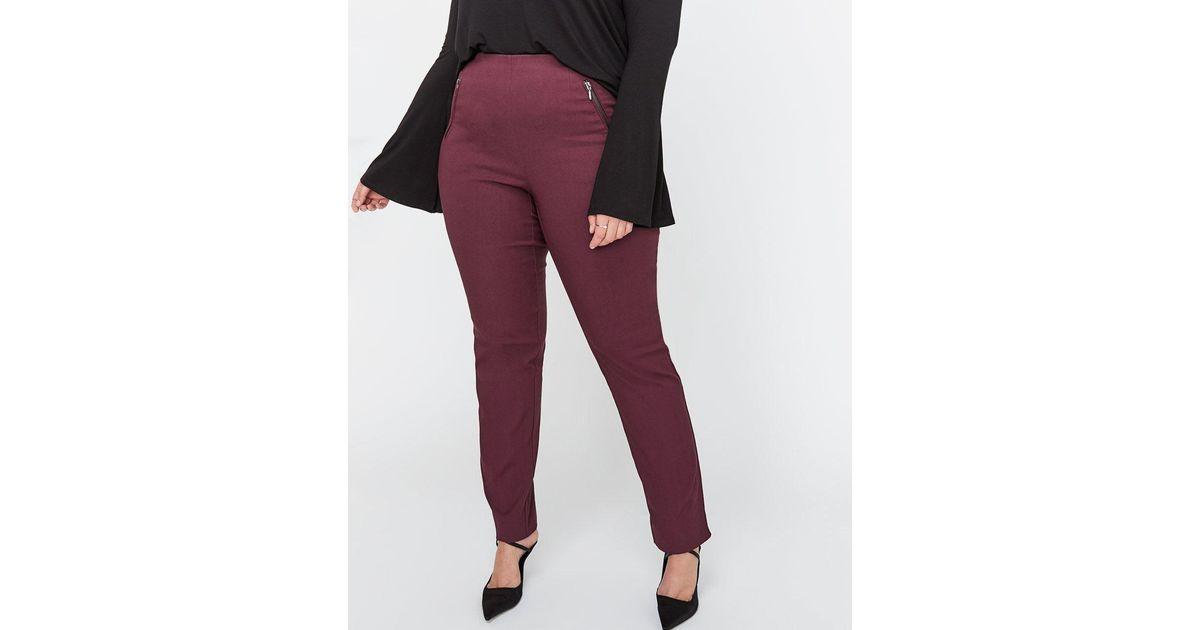 ca4b1a7591ff5 Lyst - Addition Elle Modern Stretch Slim Leg Pant - Michel Studio