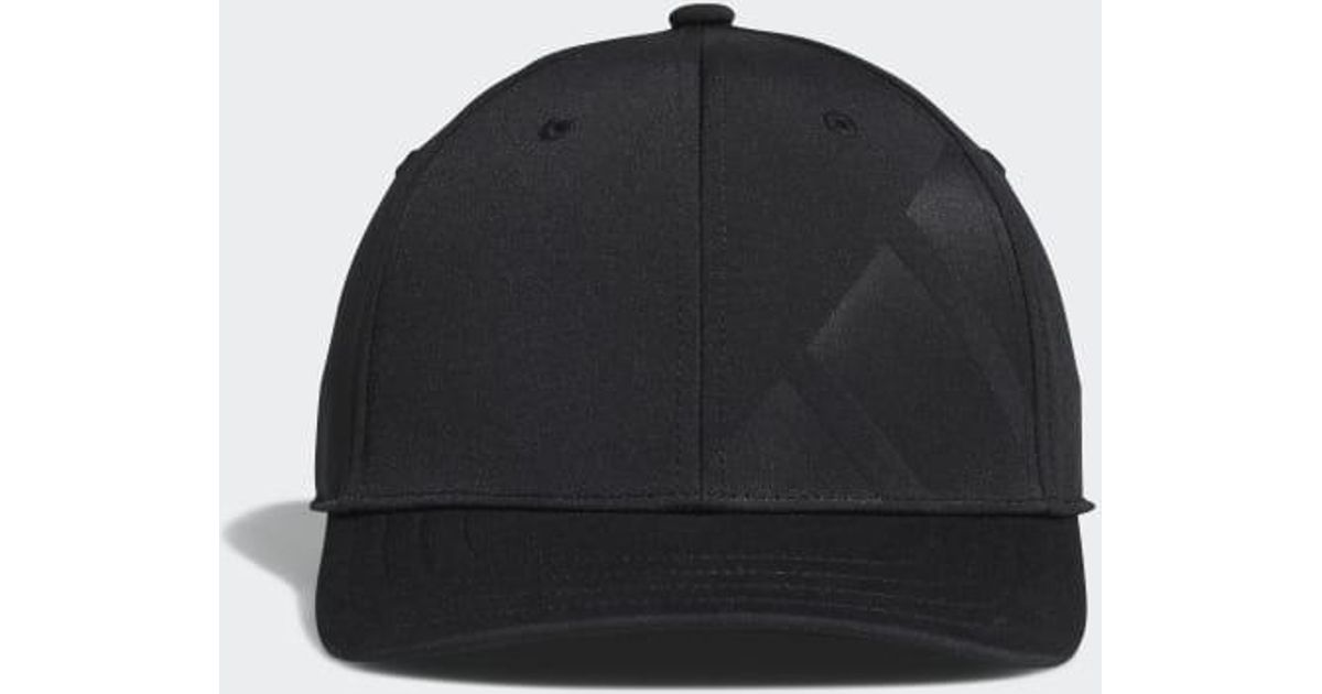 the best attitude d0188 933d1 Lyst - adidas A-stretch Bold Stripe Cap in Black for Men