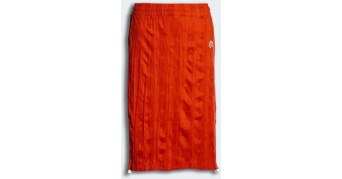 8489360c975 adidas Originals By Alexander Wang Skirt in Orange - Lyst