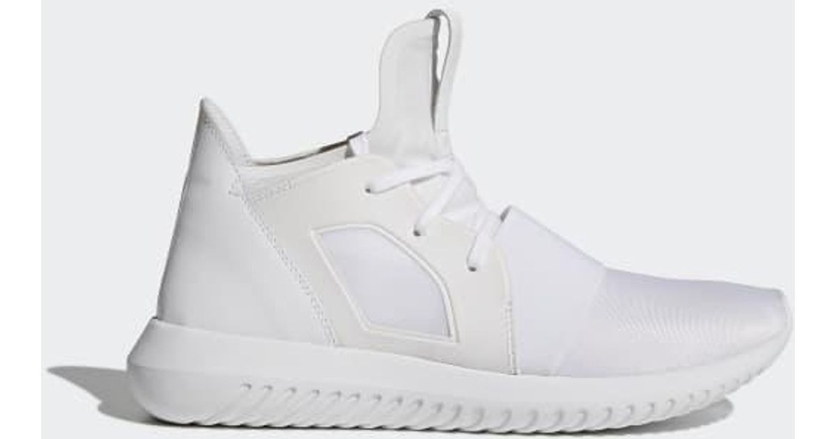 huge discount 1fa89 1377d Lyst - adidas Tubular Defiant Shoes in White