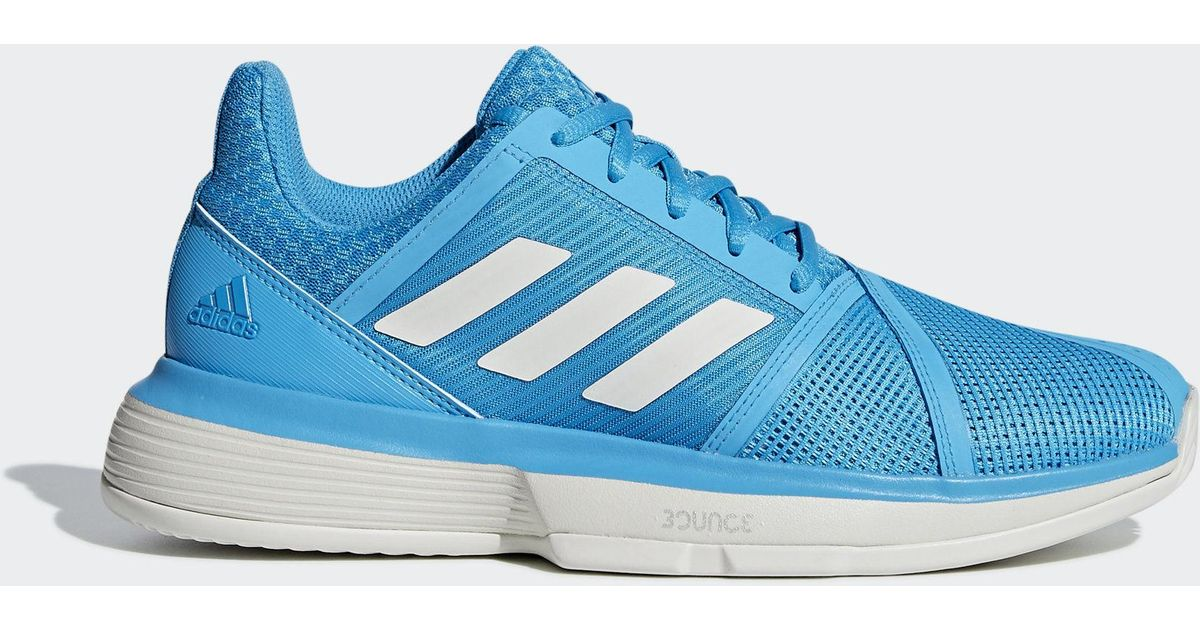 4e9e431f8454b adidas Courtjam Bounce Clay Shoes in Blue - Lyst