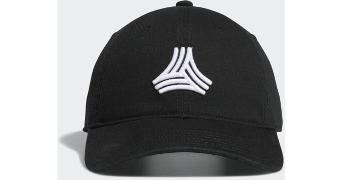 e624b14a8a973 adidas Tango Relaxed Hat in Black for Men - Lyst