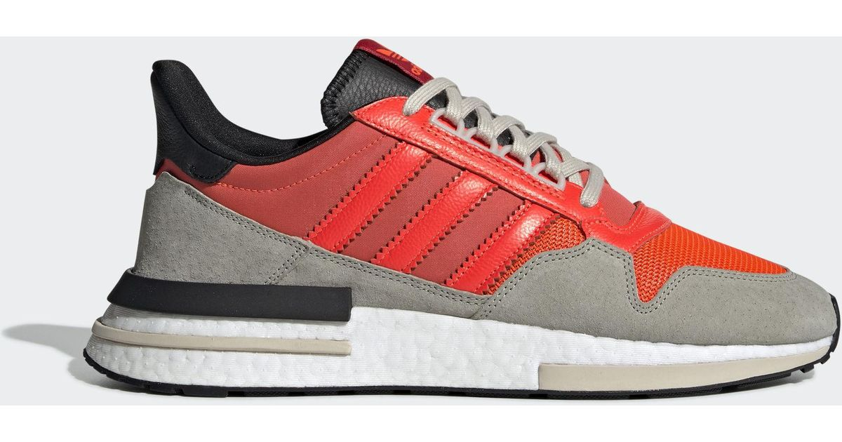 46425f3a4448e adidas Originals Adidas Zx 500 Rm Solar Red  Core Black  Ftw White in Red  for Men - Lyst