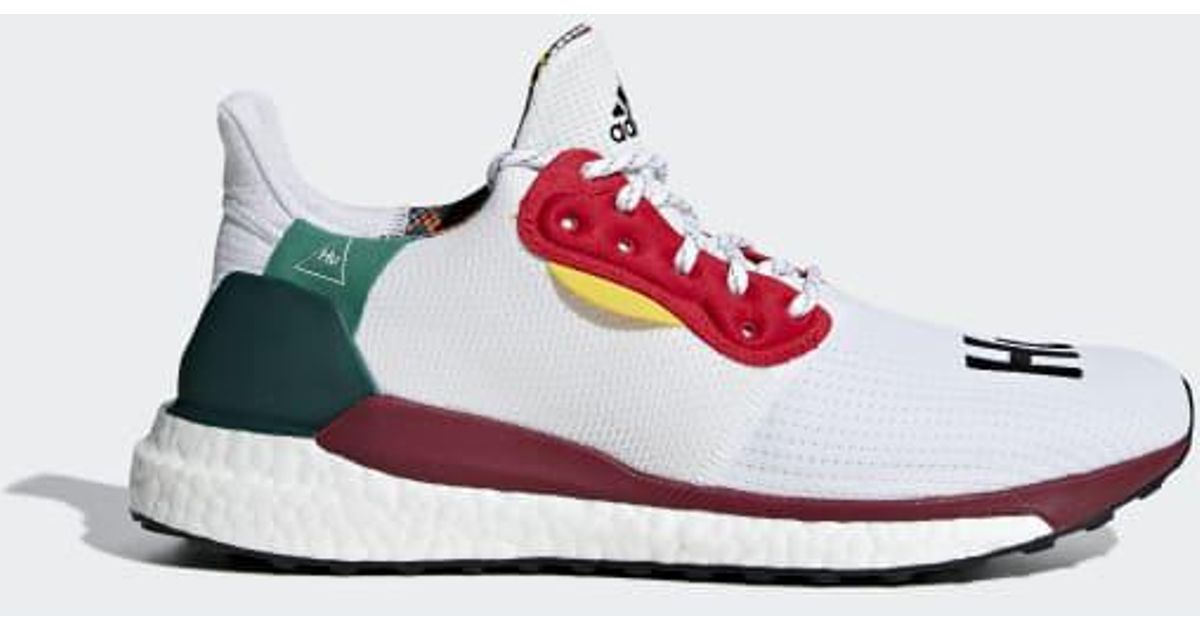4b048071bc54b7 Lyst - adidas Pharrell Williams X Solar Hu Glide Shoes in White for Men