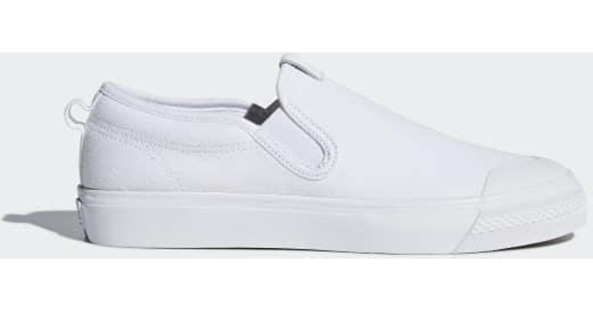 2782aabe9b Lyst - adidas Nizza Slip-on Shoes in White