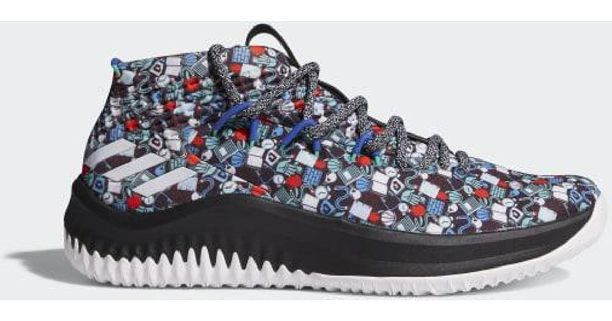 ce304d9ca3ce Lyst - adidas Dame 4 Camp Shoes in Black for Men