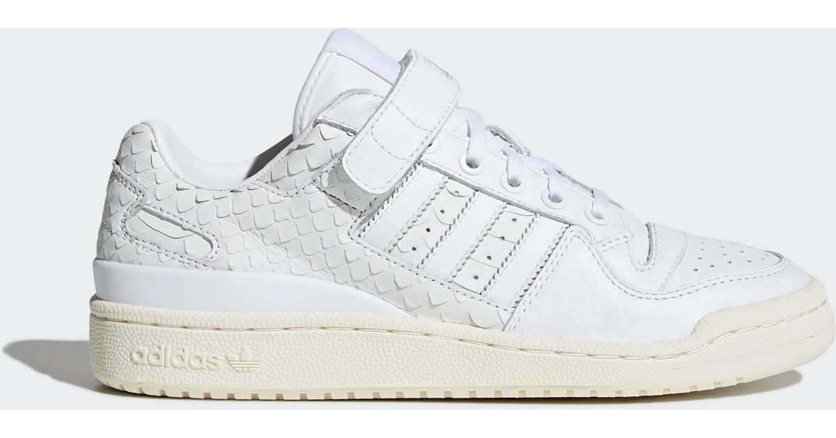 1b91df71e507 Lyst - adidas Forum Low Shoes in White