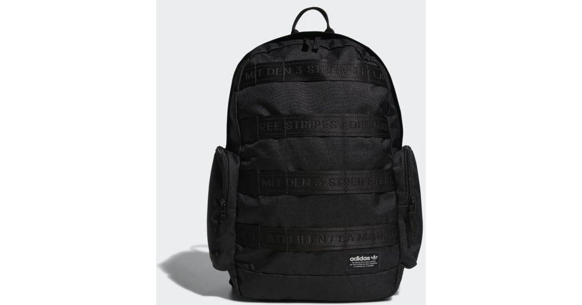 Lyst - adidas Create 3 Backpack in Black for Men 7572f6b24d77a