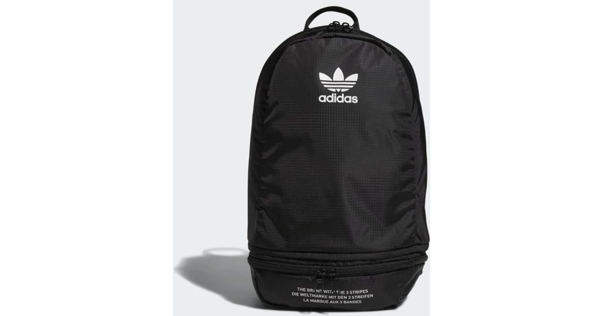 Lyst - adidas Packable Two-way Backpack in Black for Men 5c401c3a72f9a