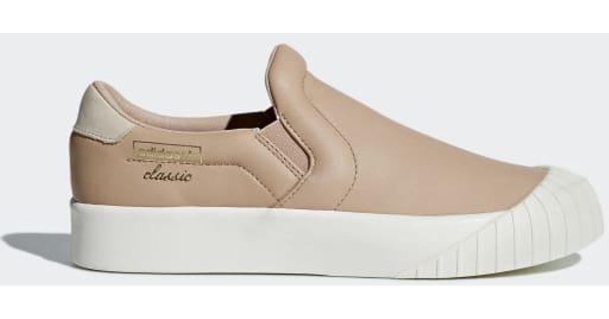 b7668f593fd Lyst - adidas Everyn Slip-on Shoes in Pink