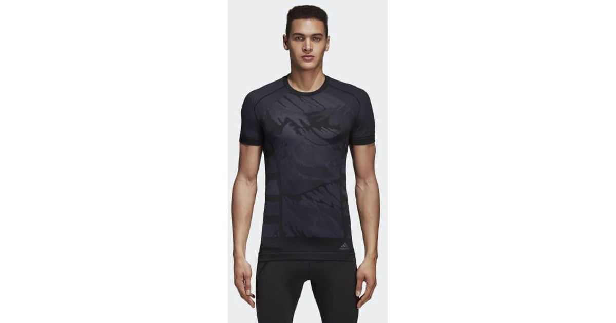 new products b9a58 7ae42 Lyst - adidas Ultra Primeknit Parley Tee in Black for Men