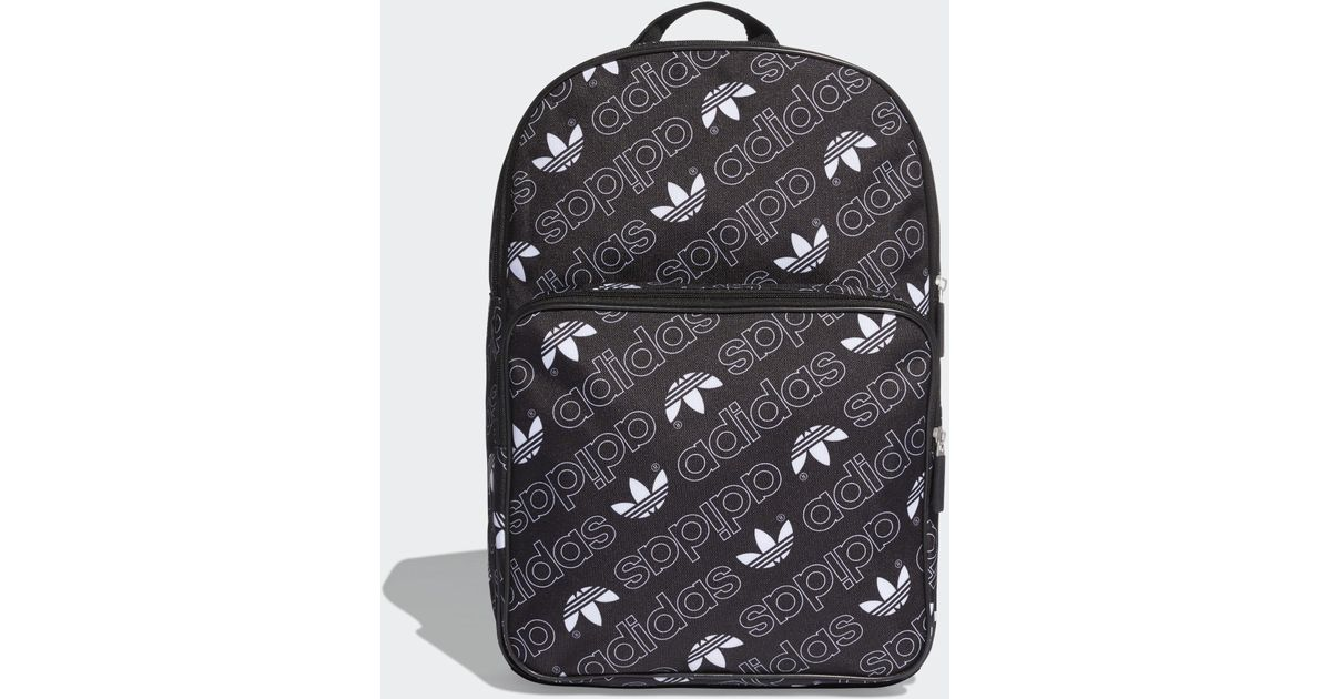 273b125d2390 adidas Adicolor Backpack Medium in Black - Lyst