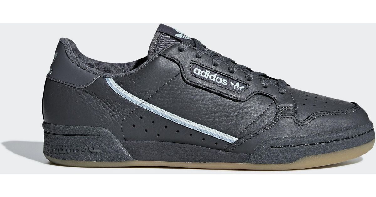adidas Continental 80 Shoes in Gray for Men - Lyst 6bd106a7d