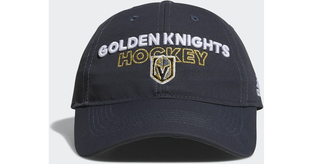 Lyst - adidas Golden Knights Adjustable Slouch Hat in Blue for Men 58f37ce256aa
