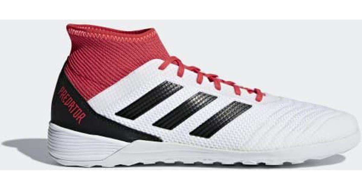 47e0ae19e5b Lyst - adidas Predator Tango 18.3 Indoor Shoes in White for Men