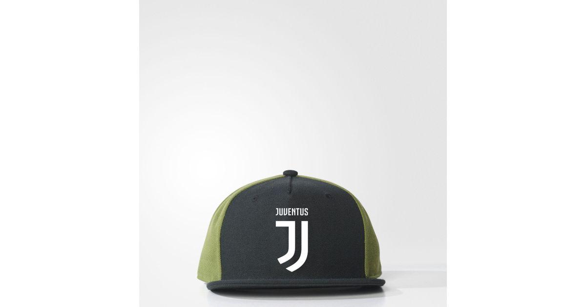 0fbce71c adidas Juventus Flat-brim Hat in Black for Men - Lyst