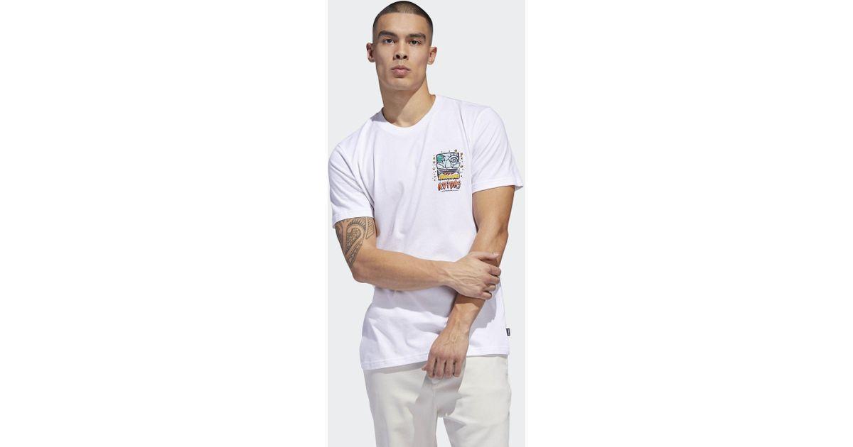 2689eae4 adidas Roanoke Tee in White for Men - Lyst