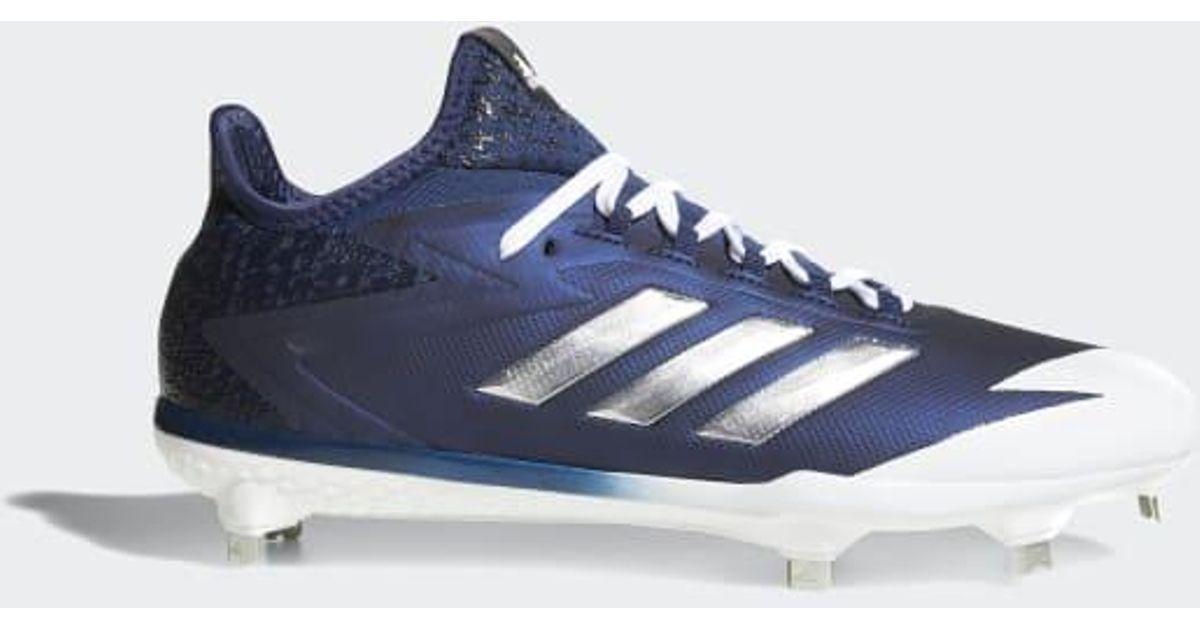 f8d384a3cdb5 Lyst - adidas Adizero Afterburner 4 Cleats in Blue for Men