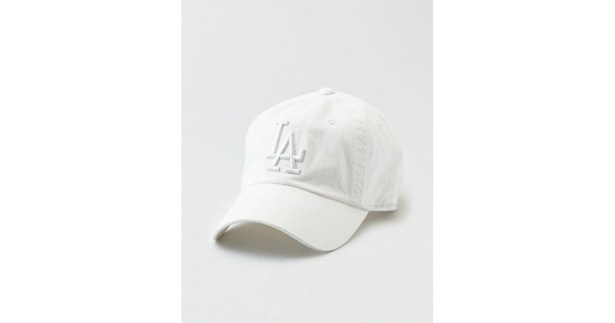 Lyst - American Eagle American Needle La Dodgers Baseball Hat in White for  Men d27b4912cc44