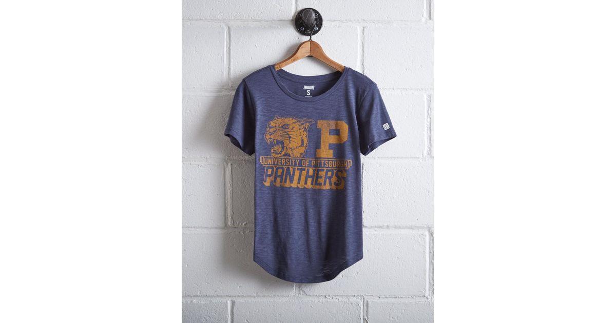 Lyst - Tailgate Women s University Of Pittsburgh T-shirt in Blue 5148b8625