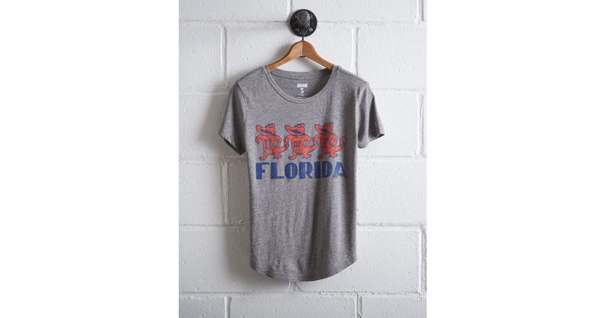 650101b611 Lyst - Tailgate Women s Florida Gators T-shirt in Gray