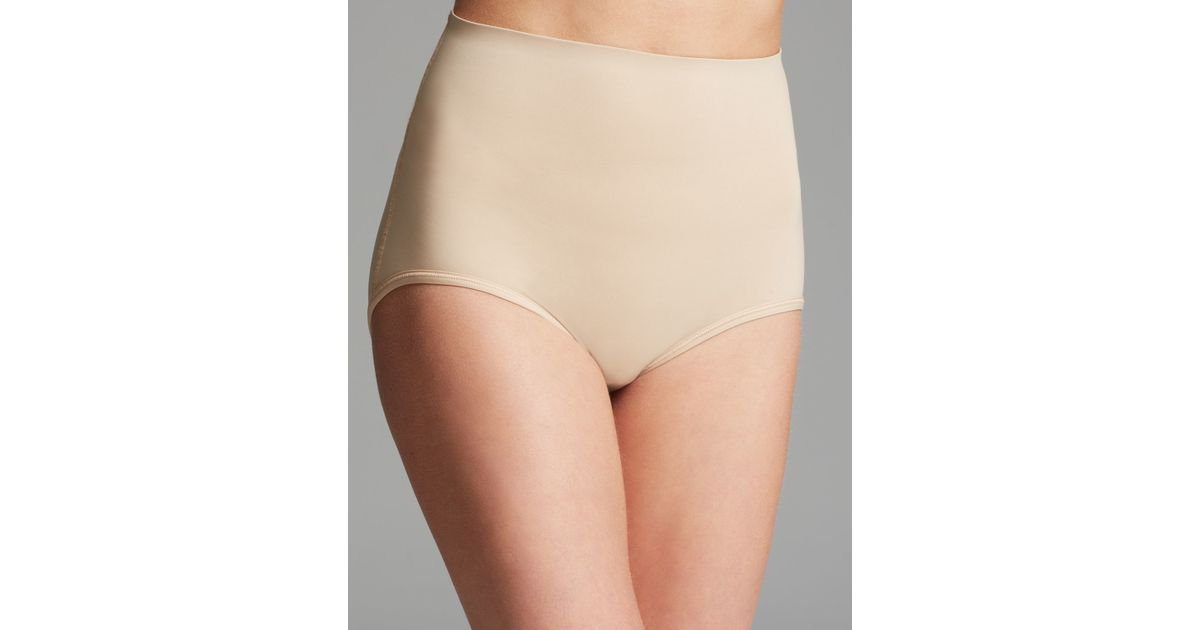 609b966e7 Lyst - Spanx ® Brief - Trust Your Thinstincts Uplifting Booty Bra  2318 in  Natural