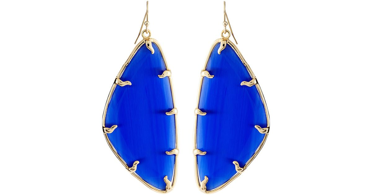 g portrait fill gold cobaltsolarisear products earrings cobalt solaris side