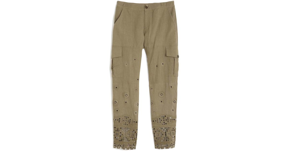 Lastest Weekendz Off Linen Cargo Pants For Women  Save 54