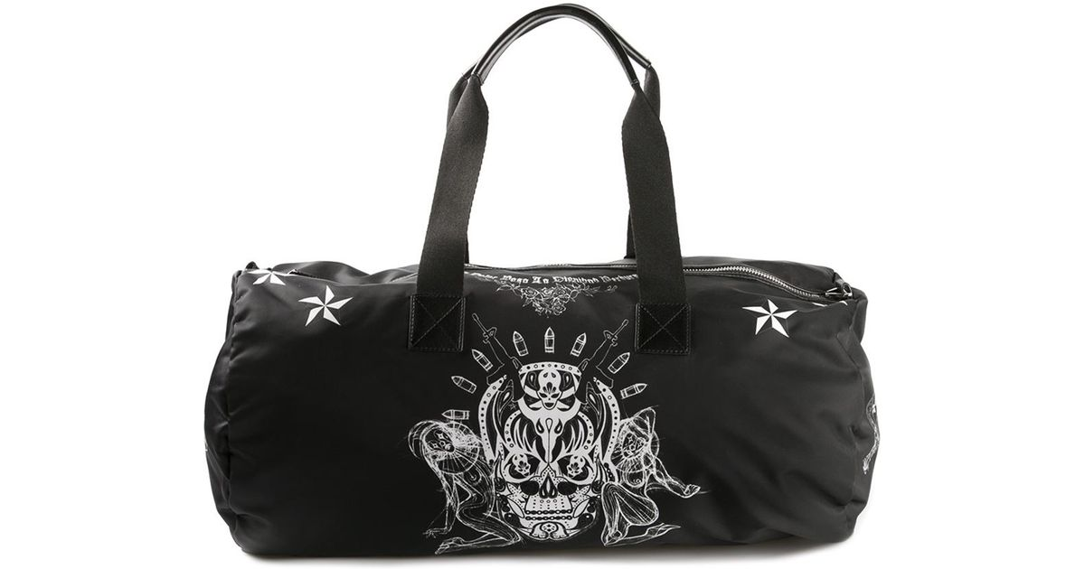 Lyst - Givenchy Printed Gym Bag in Black for Men 52b5077d281e3
