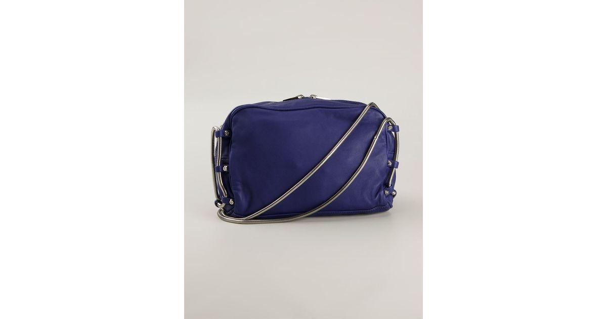 1da130962d5 Alexander Wang Brenda Leather Cross-Body Bag in Purple - Lyst