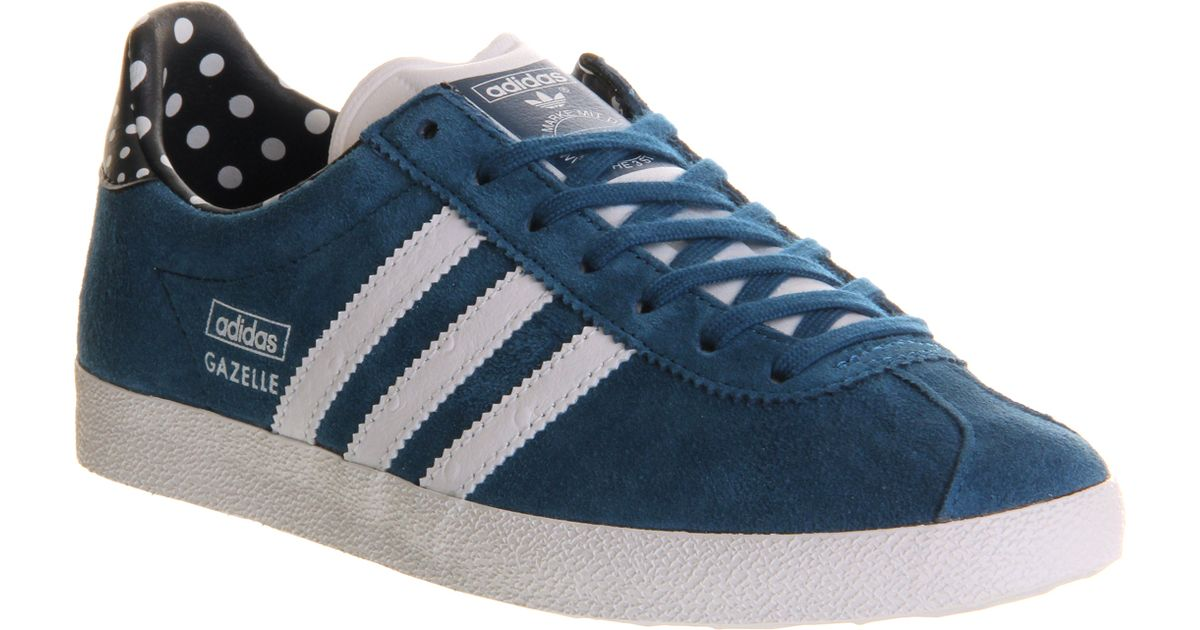 official photos e0d33 6e6d0 adidas Gazelle Og W in Blue - Lyst