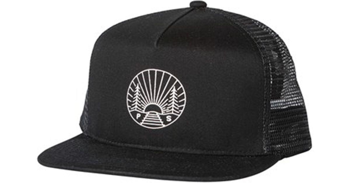92977c07e76 Lyst - Poler Stuff  camp Vibes  Trucker Cap in Black for Men