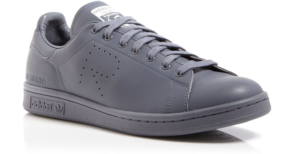 low priced f800b 9f238 Lyst - adidas By Raf Simons Stan Smith Leather Sneakers in G