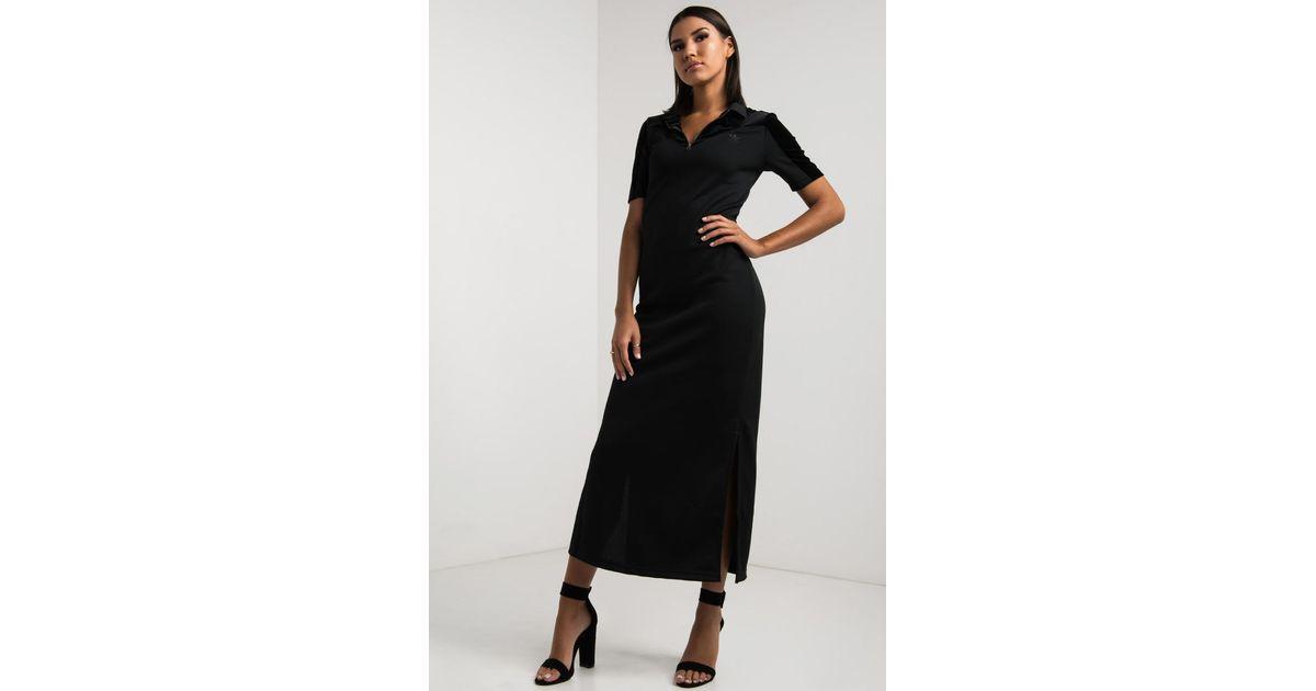 Velvet Lyst Long Adidas In Tee Dress Black Vibes dCeBroWx