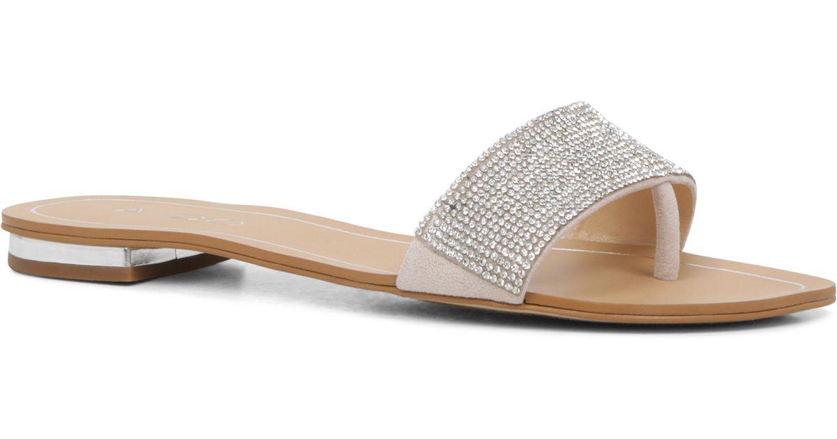 Aldo Womens Slide Shoes