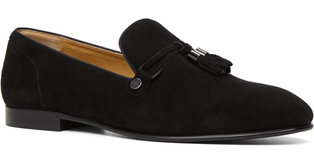 ALDO Mccrery dress loafers in black suede choice for sale voN1W