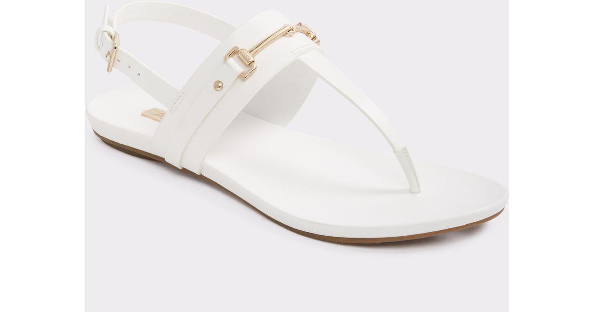 83c55e1fdd99 Lyst - ALDO Croreni in White