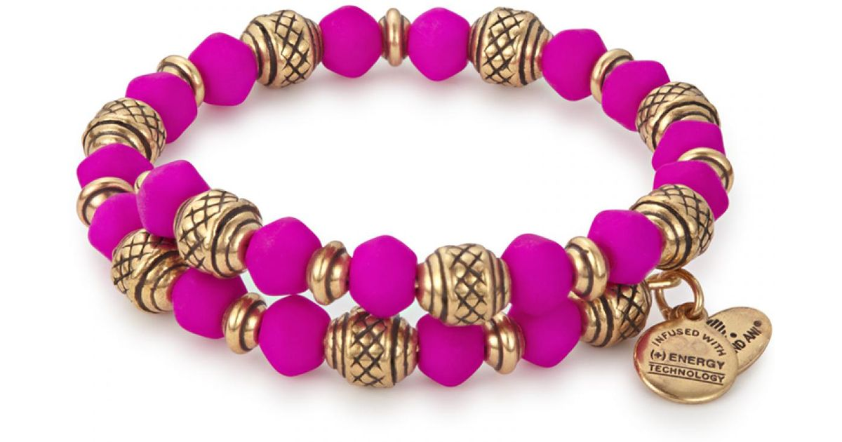 4456318e39075 ALEX AND ANI - Multicolor Dragonfruit Electric Wrap - Lyst