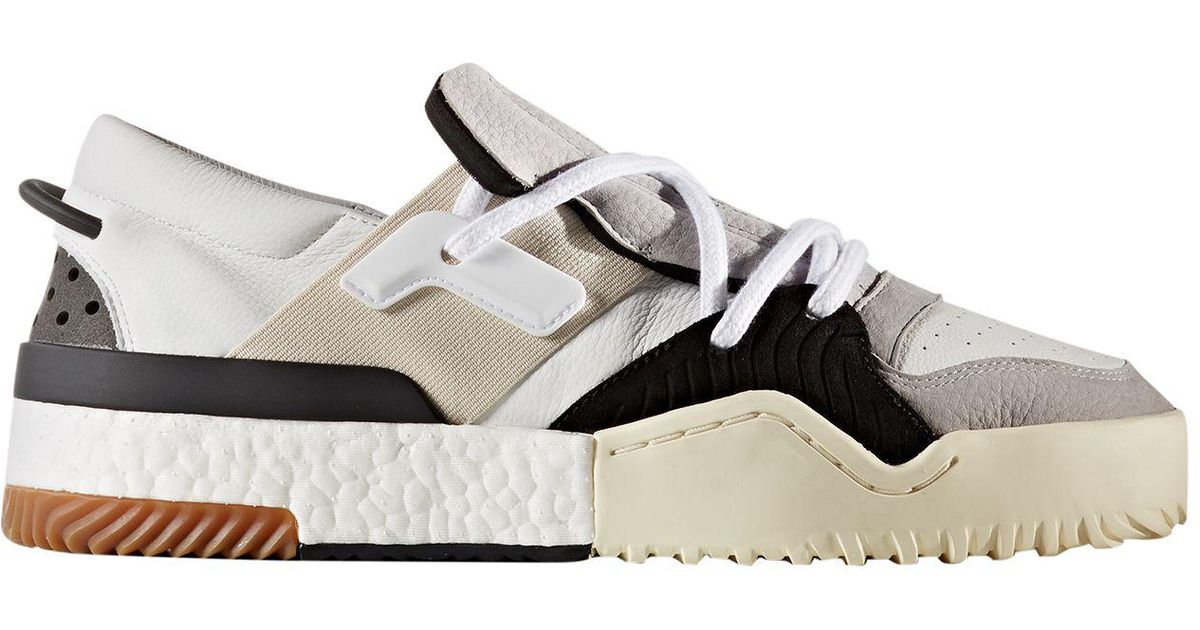 d4af9566d128 ... hot lyst alexander wang adidas originals by aw basketball shoes in gray  for men ff7a6 cbb54