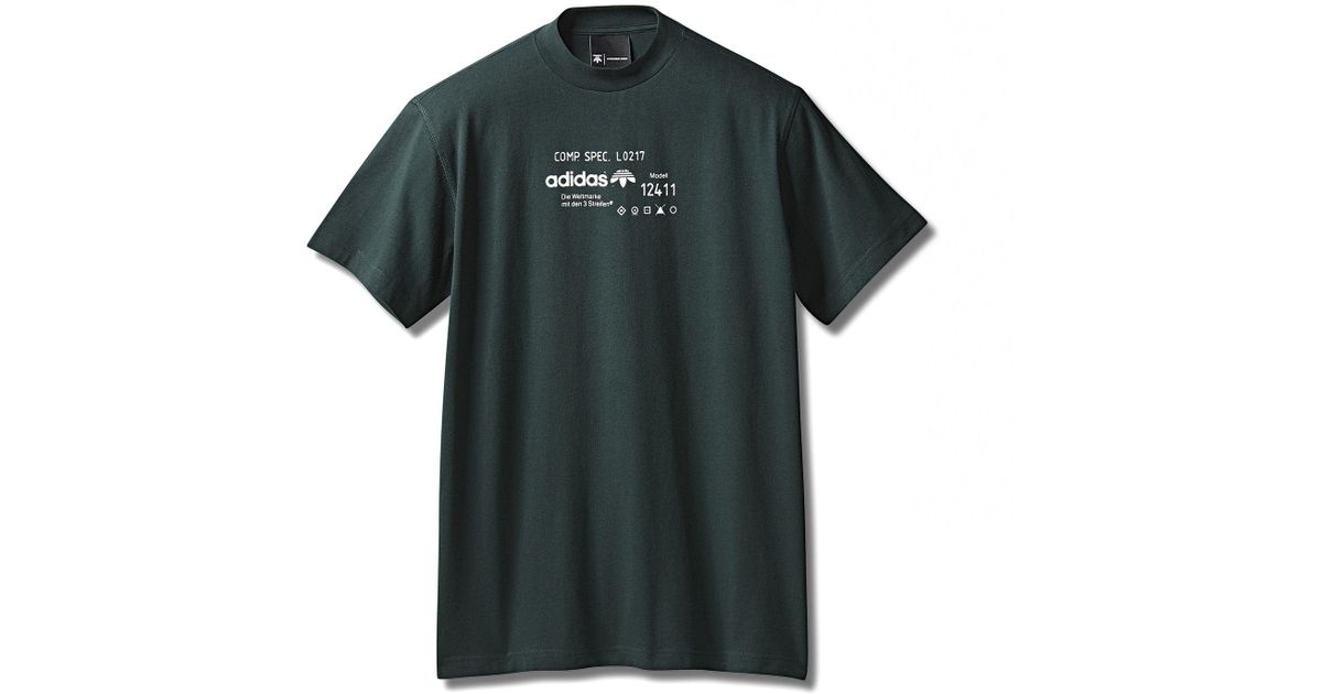 75c7bccc Alexander Wang Adidas Originals By Aw Graphic Tee in Green for Men - Lyst