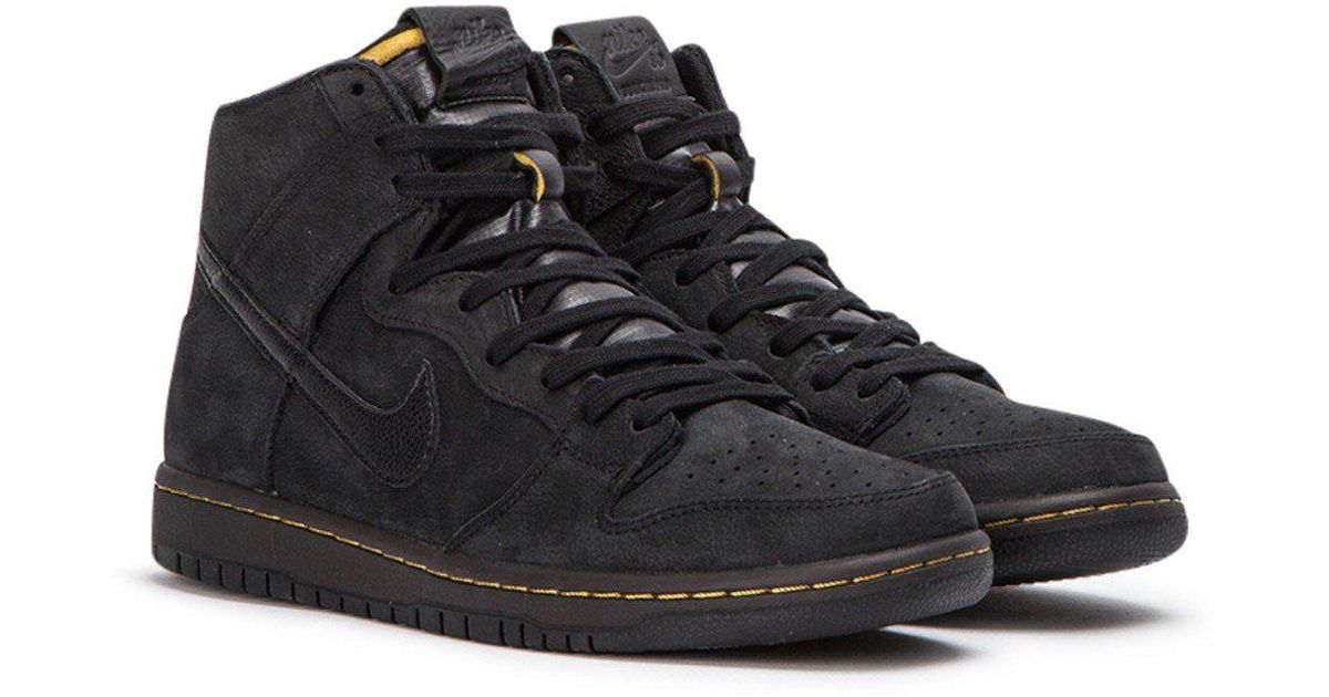 finest selection e3033 b90ba Nike Zoom Dunk High Pro Deconstructed Premium in Black for Men - Lyst
