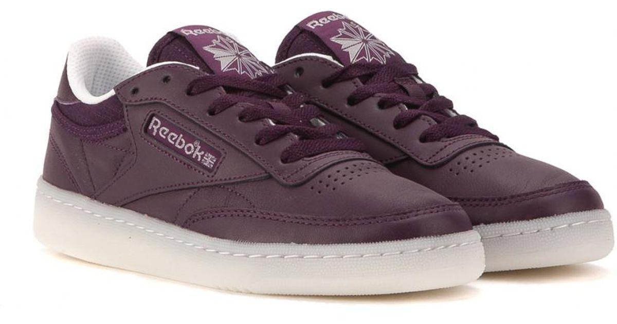 Lyst - Reebok Club C 85 On The Court W in Purple for Men b6cc669f1