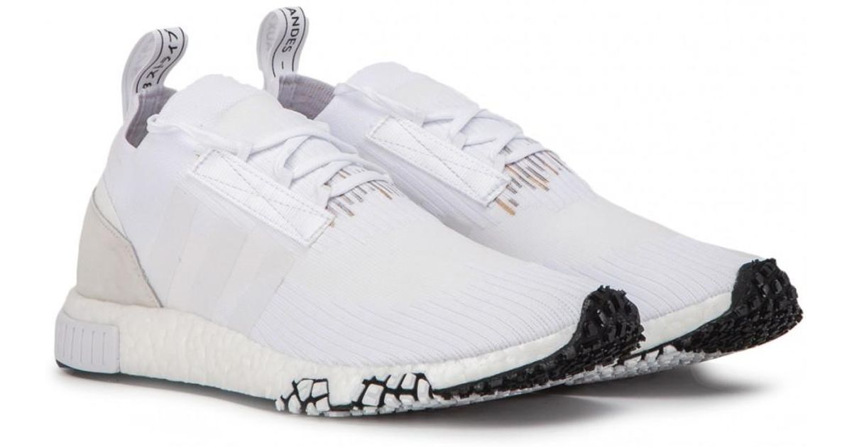 469a0757dd8 Lyst - adidas Nmd Racer Primeknit Trainers in White for Men - Save 8%
