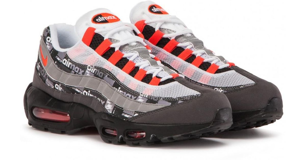 cheap for discount e9471 b403b Nike Air Max 95 Print in Black for Men - Save 29% - Lyst