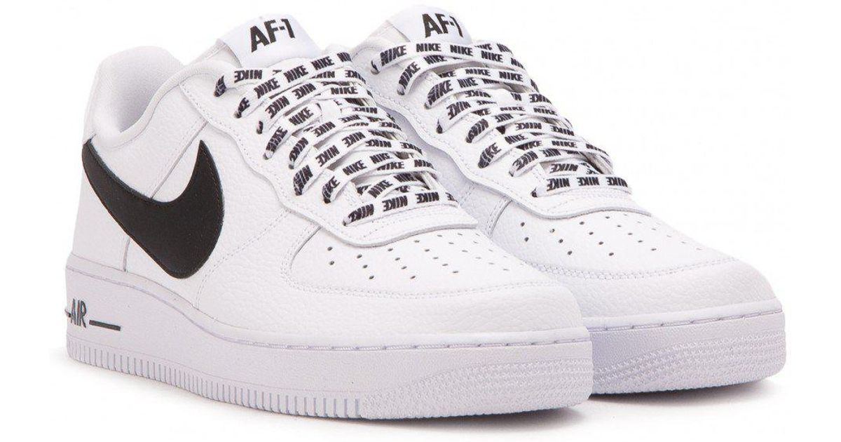 ffd932a0946e Lyst - Nike Nike Air Force 1 Low Nba Pack in White