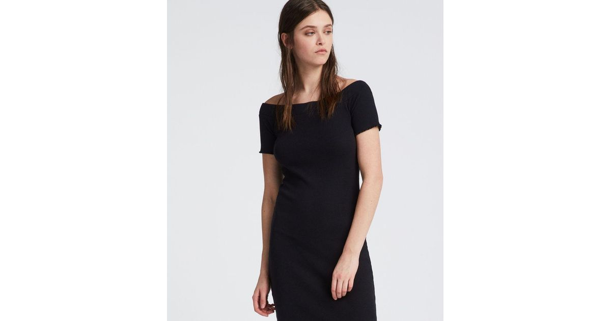 db05d7826453 Lyst - AllSaints Lora Dress in Black