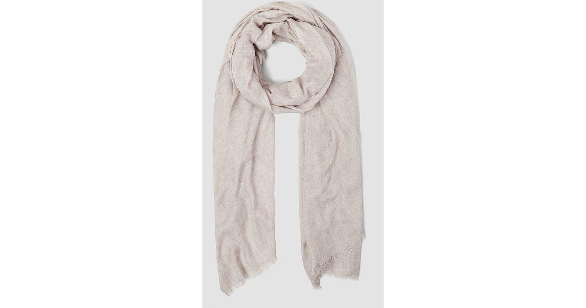 allsaints grigia scarf lyst