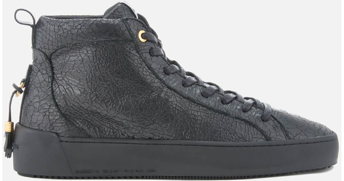 1e0feed72b9 Android Homme Getty Black Trainers With Velvet Uppers. Android Homme