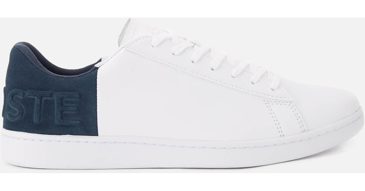 c6675294abdbd Lacoste Carnaby Evo 318 6 Shoes (trainers) in White for Men - Save 57% -  Lyst